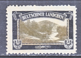 LOST COLONIES   MOURNING LABEL   HULTSCHNER LAENDCHEN    ** - Unused Stamps