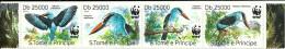 Sao Tome & Principe / Birds / Strip - Unused Stamps
