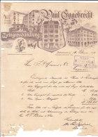 BERLIN PAUL EGGEBRECHT .- WEINGROSSHANDLUNG - 1900 – 1949