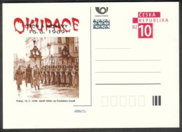 Czech Rep. / Postal Stat. (Pre2009/14) The Occupation Of Bohemia And Moravia (15.3.1939) Adolf Hitler At Prague Castle - Entiers Postaux