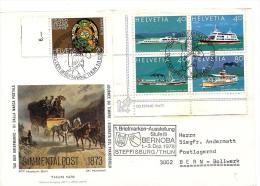 """23167 -  Enveloppe  Avec Oblit Spéciale """"Journée Du Timbre 1978 Bernoba"""" - Storia Postale"""