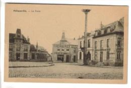 CPSM PHILIPPEVILLE (Belgique-Namur) - La Poste - Philippeville