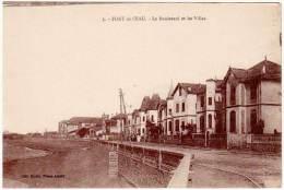 Cpa Algérie, Fort De L'Eau - Le Boulevard Et Les Villas - Algérie