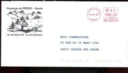 Enveloppe Presle Savoir Oblitération Mécanique Le Rochette 20 04 2006 - France