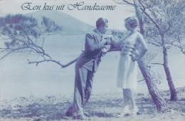 """Handzame Kortemark """" Een Kus Uit Handzaeme """" Geschreven 1931 - Kortemark"""