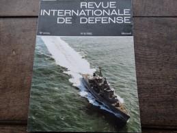 Revue Internationale De Défense N°8/1985 - Aviation