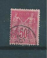 Timbre De France N°98 Surcharge De Port Said - Used Stamps