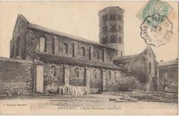 CPA 71 ANZY LE DUC Eglise 1906 - Frankreich