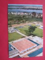 CPSM COTE D´IVOIRE HOTEL IVOIRE ABIDJAN PISCINE JARDIN - Costa De Marfil