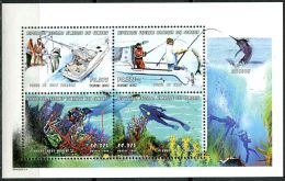 Comores, N°.1099 à N° 1102** Y Et T En Mini-feuille - Comores (1975-...)