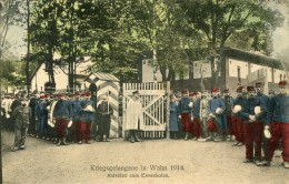 Allemagne Guerre 14 18 Militaria KRIEGSGEFANGENE In WAHN 1914 Prisonniers Antreten Zum Essenholen  ........ - G - Allemagne