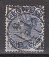 Engeland United Kingdom, Great Britain, Angleterre, Queen Victoria, SG 187, Y&T 76, MICHEL 72 Used TOP CANCEL LONDON - 1840-1901 (Victoria)