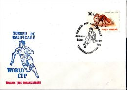 Rugby - World Cup 1995 Qualification - Specialc Cancelation Romania Russia Game - Cover Of Romania - Rugby