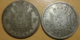 2 FRANCS BELGE 1867-68 - 1865-1909: Leopold II