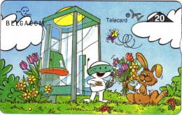 Belgique. Bande Dessinée. Lapin, Cabine Téléphonique... - Comics