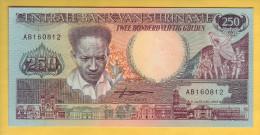 SURINAM - Billet De 250 Gulden. 9-01-88. Pick: 134. NEUF - Surinam