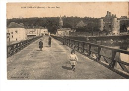 C P A--40--PEYREHORADE--le Vieux Pont--voir 2 Scans - Peyrehorade