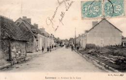 Cpa  36  Levroux , Avenue De La Gare - Autres Communes