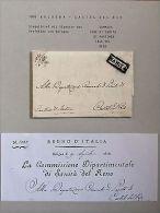 Lettre Purifiée /DISINFECTED Cover / Sanita : 1808 Bologne à Castel Del Rio - Old Paper