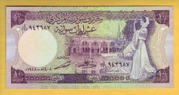 SYRIE - Billet De 10 Pounds. 1988. Pick: 101d. NEUF - Siria