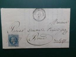 COL. DE DEPARTEMENT DU NORD LOT  256A   G.C.4785  FRESNES-NORD - Postmark Collection (Covers)