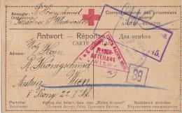CARTE CAMP DE PRISONNIER DE GUERRE AUTRICHIEN EN RUSSIE  VLADIVOSTOK - Briefe U. Dokumente