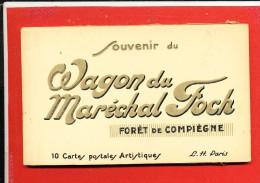 60 FORET DE COMPIEGNE Carnet Complet De 10 Cartes Postales Anciennes - Compiegne