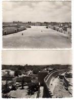 2 Cpsm Maroc, Tiznit : Place Du Mechouar / Les Remparts - Maroc