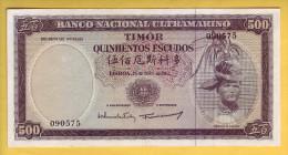 TIMOR - Billet De 500 Escudos. 25-04-63. Pick: 29. SUP+ - Timor