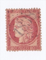 "Type "" Cérès "" : 80c Rose - N°57 -1 - 1871-1875 Ceres"
