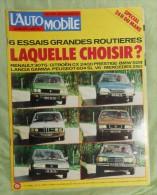 L´Automobile Sport Mécanique. N° 372. Juin 1977.  Renault 30TS.  Citroën CX 2400 Prestige.  BMW 528.  Lancia Gamma.  Peu - Sport
