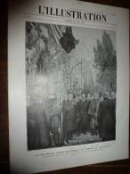 1917: Alphonse XIII;Texte LOTI;Front Italien Cucco,Santo;Florence;Croquis FLAMENG;Russie;Exploit Marins HYACINTHE-YVONNE - Zeitungen