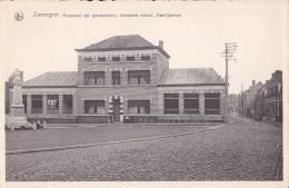 ZWEVEGEM : Monument Der Gesneuvelden, Gemmente School, Deerlijkstraat - Zwevegem