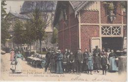 23801g  ALBERTUS En ISABELLA PUT - PUITS ALBERT Et ISABELLE  - Scherpenheuvel - 1907 - Colorisée - Scherpenheuvel-Zichem