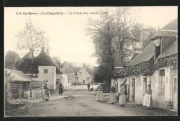 CPA La Chapelotte, La Grande Rue, Pres Le Lavoir - Non Classés