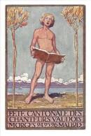 11055 -   Fête Cantonale Des Chanteurs Vaudois Morges 1913 Carte Officielle Original De René Martin - VD Vaud