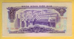 VIET NAM - Billet De 5 Dong. 1966. Pick: 42a. NEUF - Vietnam