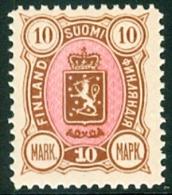 FINLAND 1889-1900 10mk Wapentype 3 Cijfers PF-MNH-NEUF - 1856-1917 Administration Russe
