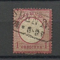Deutsches Reich Micjhel Nr. 4: 1872, 1. Jan. Freimarken: Adler Mit Kleinem Brustschild (und Mit Sog. Aachener Krone) - Usati