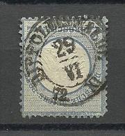 Deutsches Reich Michel Nr. 5: 1872, 1. Jan. Freimarken: Adler Mit Kleinem Brustschild (und Mit Sog. Aachener Krone) - Gebruikt