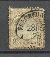 Deutsches Reich Michel Nr. 11: 1872, 1. Jan. Freimarken: Adler Mit Kleinem Brustschild (und Mit Sog. Aachener Krone) - Gebruikt