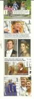 Netherlands 2014 Mint Block 5 Stamps King Willem Alexander, Queen Maxima, Children - Koniklijke Families