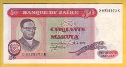 ZAIRE - Billet De 50 Makuta. 24-06-77. Pick: 16b. NEUF - Zaire