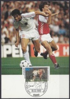 Germany 1988 Football 1v Maximum Card (18814) - Tennis