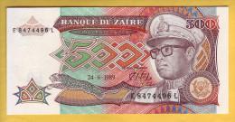ZAÏRE - Billet De 500 Zaïres. 24-06-89. Pick: 34a. NEUF - Zaire
