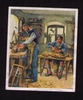 """Image """" Deutsche Kultur Bilder """", 1934, Sammelwerk N°9, Bild N°257, Gruppe 36, Sculpture Sur Bois - Au Bon Marché"""