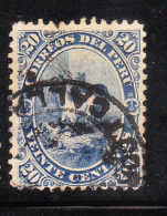 Peru 1886-95 Llamas 20c Used - Peru