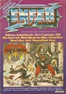 ENFER  Magazine     N°4Bis   -   Aout 1983.   Mulhouse : Festival Sunrise.   Les Maitres Du HARD - Musik