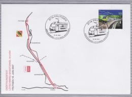 Eröffnungsfest Lutschberg - Basistunnel (34.6km) - Frutigen, 16. Juni 2007 - Bern - Wallis - Valais - Railway - Train - Trenes