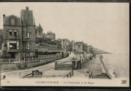 Cpa 89  VILLERS.SUR.MER.  La Promenade Et La Digue. - Villers Sur Mer